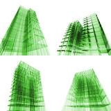комплект принципиальной схемы здания Стоковые Фотографии RF