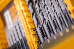 Комплект профессионала буровых наконечников Стоковая Фотография RF