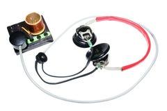 Комплект радио сбора винограда кристаллический Стоковая Фотография RF