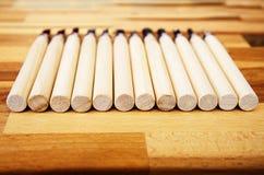 комплект различных инструментов для резать изделия из древесины Стоковые Изображения RF