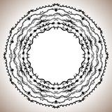 Комплект рамок сбора винограда круглых Стоковая Фотография RF