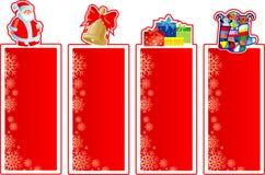 комплект рождества знамен Стоковые Фотографии RF