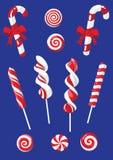 комплект рождества конфеты Стоковая Фотография RF