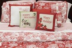 комплект рождества кровати Стоковое Фото