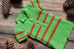 Комплект рождества одежд для фотосессии newborn Стоковая Фотография RF