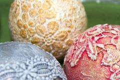 комплект рождества шариков Стоковая Фотография RF