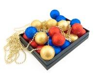 комплект рождества шариков Стоковые Изображения RF
