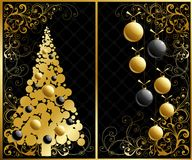 комплект рождества Стоковые Изображения RF