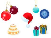 комплект рождества Стоковые Изображения
