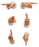 комплект руки собрания Стоковое Фото