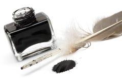 Комплект ручки пера абстрактного цвета Стоковая Фотография
