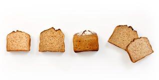 Комплект свеже испеченного хлеба бесплатная иллюстрация