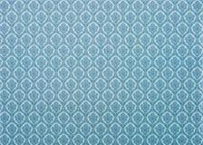 комплект света - голубое флористического Стоковая Фотография