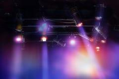 Комплект светлой смертной казни через повешение в студии телевидения Стоковое Изображение RF