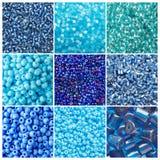 комплект сини стоковые изображения