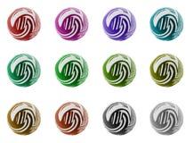 комплект собрания шариков Стоковые Фотографии RF