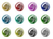 комплект собрания шариков Стоковая Фотография RF