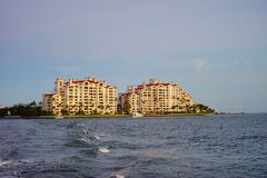 Комплект солнца гостиницы пляжа Стоковое Изображение RF