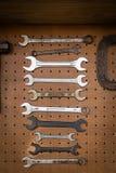 Комплект старого ключа металла Стоковое Изображение