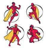 Комплект супергероя Стоковая Фотография RF