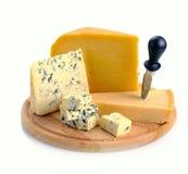 комплект сыра Стоковые Изображения