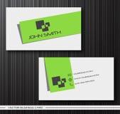 Комплект творческих визитных карточек Стоковое фото RF