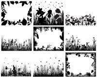 комплект травы Стоковое Изображение