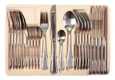 комплект упаковки cutlery Стоковые Фото