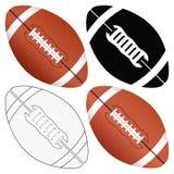 комплект футбола шарика Стоковое фото RF
