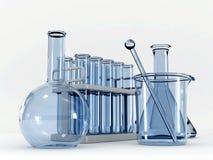комплект химии Стоковое Изображение RF