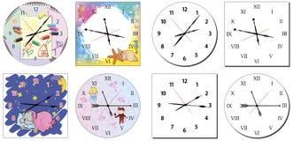 Комплект часов Стоковые Изображения
