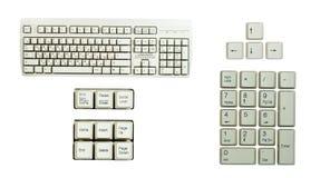 комплект части s клавиатуры Стоковые Изображения RF