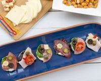 Комплект честных сандвичей Стоковое Изображение RF
