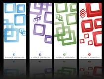 Комплект шаблона брошюры Стоковая Фотография RF