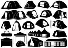 Комплект шатров Стоковое фото RF