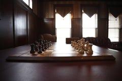 комплект шахмат Стоковое Изображение RF