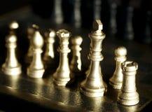 комплект шахмат Стоковые Изображения RF