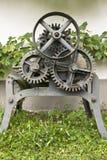 комплект шестерни металлический Стоковые Фото