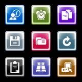комплект экрана 3 цветов Стоковое Изображение RF