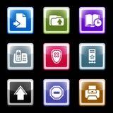 комплект экрана 4 цветов Стоковые Фото
