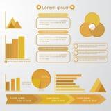 комплект элементов infographic иллюстрация вектора