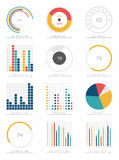 Комплект элементов infographics Стоковое фото RF