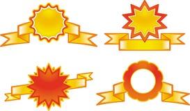 Комплект эмблем бесплатная иллюстрация