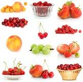 комплект ягод различный Стоковые Фото