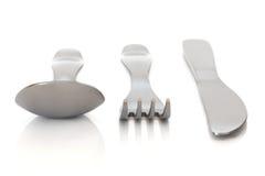 комплект cutlery Стоковые Фото