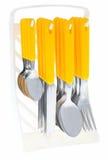 комплект cutlery стоковые фотографии rf