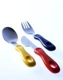 комплект cutlery s младенца Стоковое Изображение