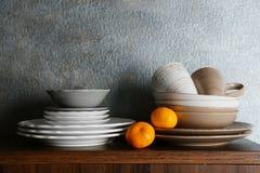 Комплект dinnerware стоковая фотография rf
