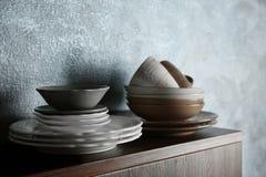 Комплект dinnerware стоковые фотографии rf