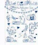 комплект doodle 8 Альфред Стоковая Фотография RF